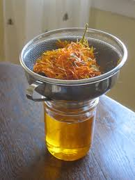 how to make a calendula oil infusion root simple