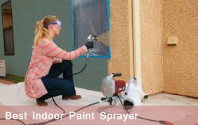 paint sprayer quick painting interior walls with best indoor paint sprayer