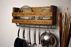 kitchen pot rack ideas the useful of diy hanging pot rack ideas tedx decors
