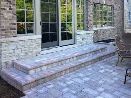paver patio edging options edging new construction in northbrook paver patio walkway steps