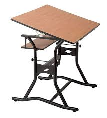 Simple Drafting Table A Slanted Kids Drawing Table Triflex Drawing Table Silverblue