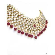 bridal jewelry necklace set images Kundan bridal jewelry set jpg