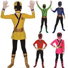 Power Ranger Halloween Costume Power Rangers Costume Blue Kids Samurai Cosplay Children Halloween