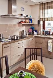 quelle couleur dans une cuisine cuisine beige et marron cool peinture cuisine avec meuble beige