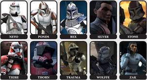 kamino u0027s finest captains commanders clone army