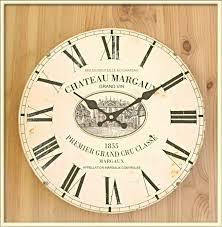 Grande Horloge Murale Pas Cher by Murale Classe