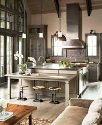 kitchen designs with islands and bars furniture parisian kitchen design with silver hood and island