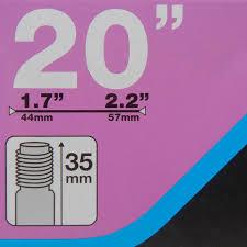 chambre à air 20 pouces b chambre a air 20 pouces section 1 7 a 2 2 valve schrader