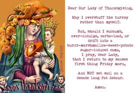 kick in the tush club tuesday thanksgiving prayer topped with