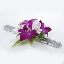 Blue Orchid Corsage Elite Dendrobium Orchid Wrist Corsage Martin U0027s Specialty Store