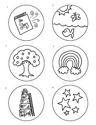 coloring pages lesson kids for christ bible club ten commandments
