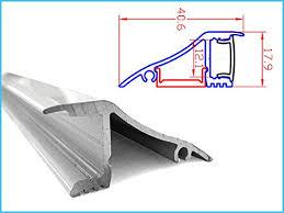 controsoffitto alluminio profilo canalina barra alluminio led da muro o da soffitto