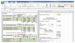 Army Resume Sample by Bank Reconciliation Template Example Masir