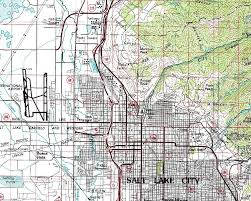 Topographical Map Of Utah by Outline Lm02 Location