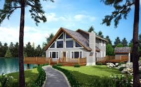 house plan 10515 at familyhomeplans com click here to see an even larger picture a frame cabin contemporary