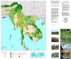 South East Asia Map Forest Observations