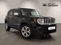 jeep renegade silver 2016 jeep renegade diesel hatchback 1 6 multijet limited 5dr