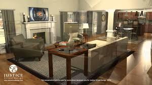 living room 3d floor plan youtube
