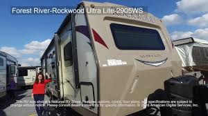 rockwood trailers floor plans forest river rockwood ultra lite 2905ws youtube