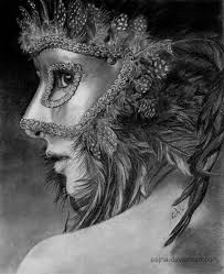 pagani drawing masquerade by eajna on deviantart art pencil pinterest