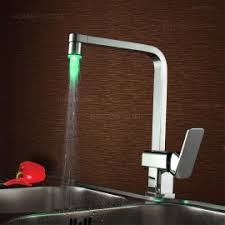 led faucets faucets with led light homary