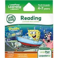 leapfrog explorer u0026 leappad learning game spongebob squarepants