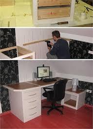fabriquer un bureau en bois bureau en palette modles diy et tutoriel pour le fabriquer soi mme