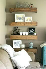 Floating Nightstand Shelf Side Table Floating Shelf Bedside Table Floating Shelves Instead