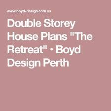 Double Story House Floor Plans Best 10 Double Storey House Plans Ideas On Pinterest Escape The