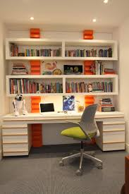 Floating Bookcases Enchanting Office Bookshelf Design With Brown Wooden Storage