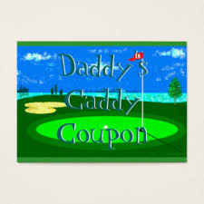 Business Card Caddy Golf Day Business Cards U0026 Templates Zazzle