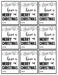 christmas labels printable free christmas gift tags printable