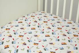 Construction Crib Bedding Set Construction Crib Sheet Baby
