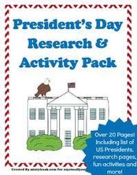 president u0027s day activities free printables free pdfs ready set
