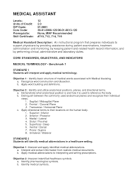 Medical Assistant Resume Objective Examples Resume Objective Examples Medical Assistant Augustais