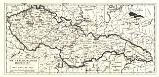 Ne Map Czechs In Nebraska Introduction