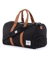 Herschel Tas Wassen herschel supply co novel black duffel bag duffel bag duffle bags