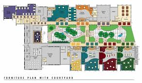 facility floor plan bombeck family learning center designshare projects