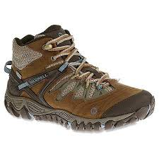 merrell womens boots australia womens boots shoes australia merrell s blue brown mid