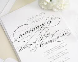 wedding invitation calligraphy for wedding invitations perfect