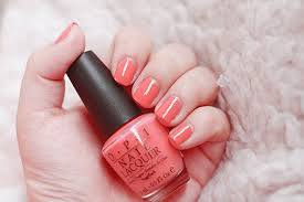 live laugh love coral peach opi discovered by emma