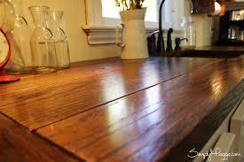 diy wide plank butcher block countertops www simplymaggie com
