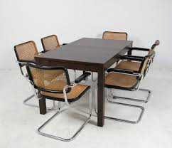 marcel breuer dining table areaneo marcel breuer chairs no s 64 from thonet dining table
