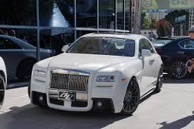 roll royce ghost white 2012 sema show white rolls royce phantom