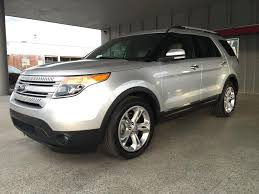 Ford Explorer 3 Rows - 2015 ford explorer limited 4dr suv in orlando fl multinational