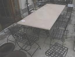 Beautiful Salon De Jardin Vienna Teck Fer Forge Table Bois Fer Forgé Amazing Petit Meuble Fer Forge 1 Table