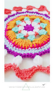 3 bright bohemian mandalas to crochet home free crochet and