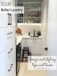 gina u0027s home butler u0027s pantry tour