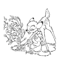 bambi coloring pages bambi and friends coloring pages bambi