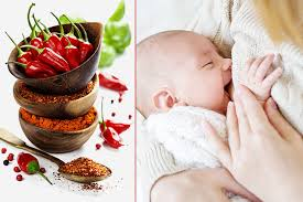 is it safe to eat spicy food while breastfeeding